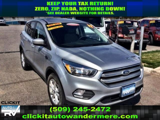 Pre Owned 2017 Ford Escape Se 2 0l Ecoboost 4x4 Suv