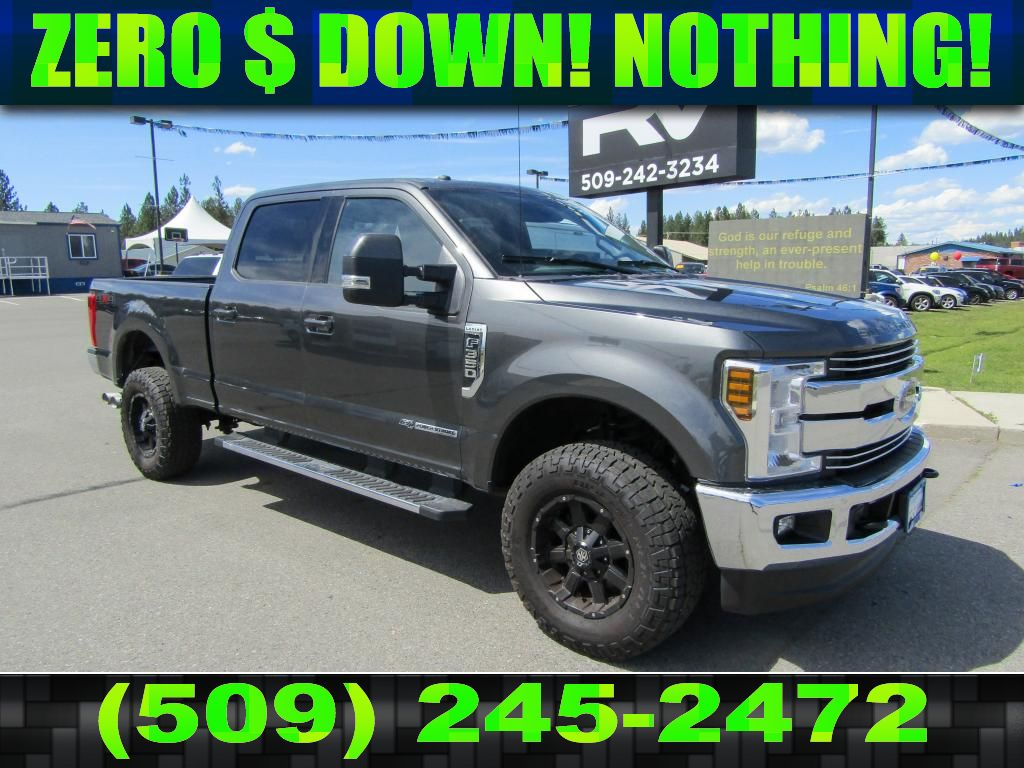 Ford 6.7 Diesel >> Pre Owned 2018 Ford F 350 Super Duty Lariat 6 7l V8 4x4 Diesel Truck 4wd